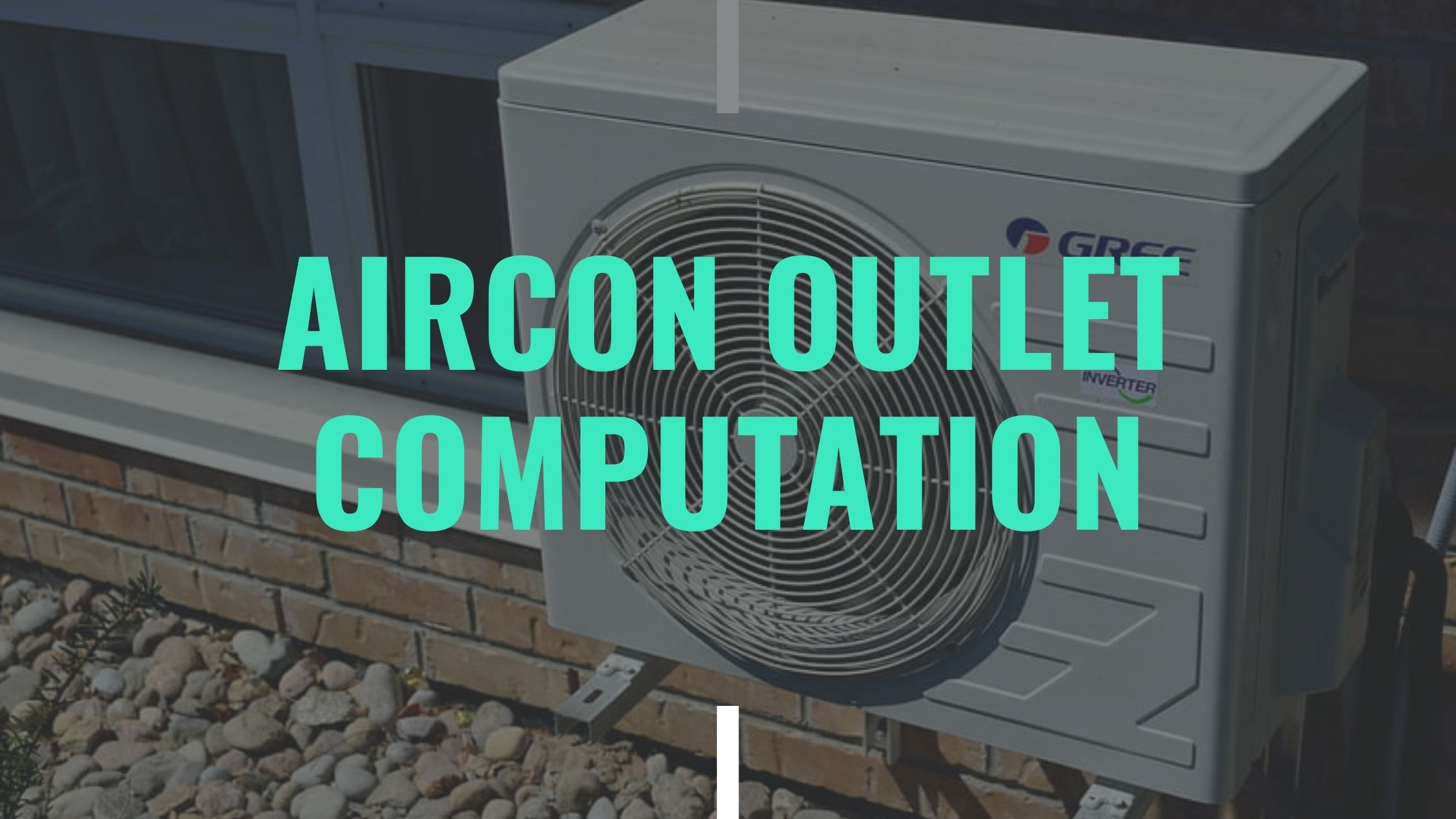 aircon outlet computation